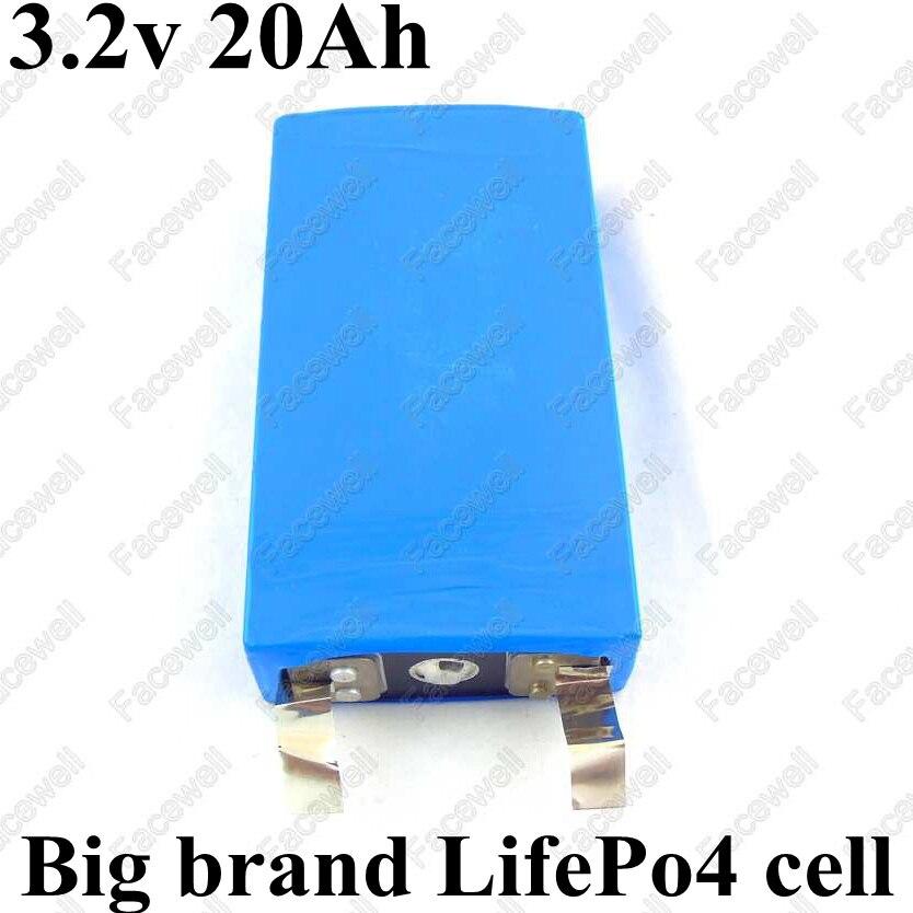 Digital Batteries 2pcs Brand Real 3.2v 20ah Lifepo4 Cell Lifepo4 50a High Drain Battery For Electric Bike Battery 12v 4s 20ah Pack Diy Power Bike