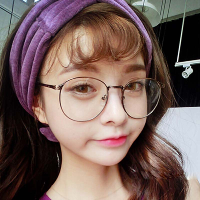 3b3c4c3bf6 Aliexpress.com   Buy Vintage Unisex Retro Alloy Round Frame Clear Lens  Eyewear Optical spectacles Full metal frame glasses 6 Colors from Reliable  glasses ...