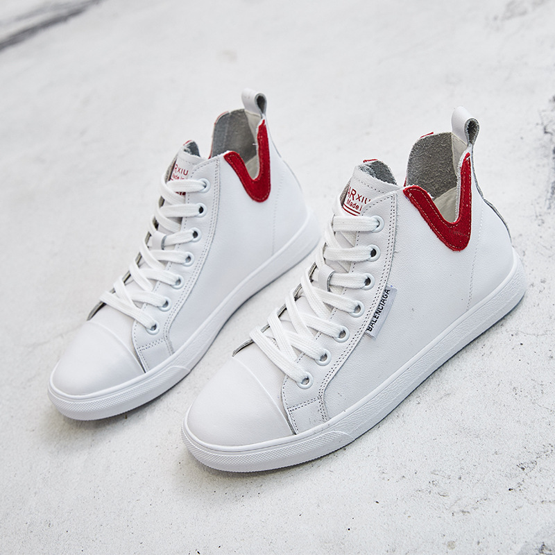 Blanc Cuir Petit 2018 Haute Chute rouge Net Chaussures Femmes De En Nouvelle Casual Rouge Vert tAYSYwq0