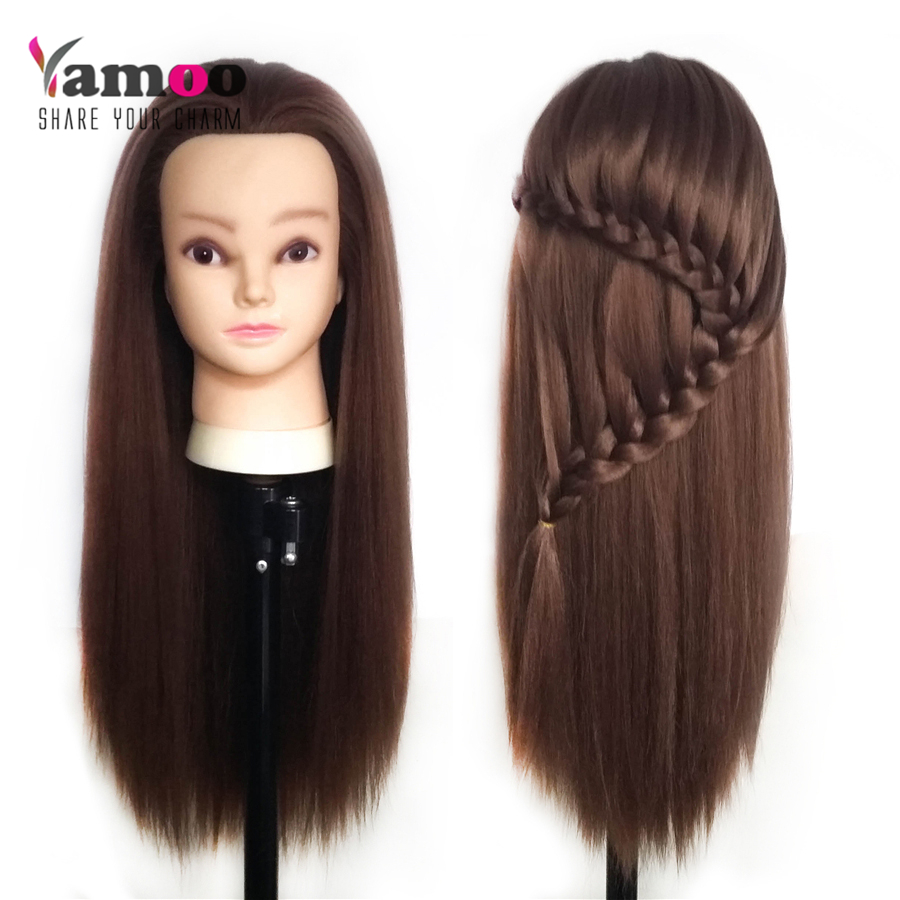 Training Head With Makeup Professional 65cm Blonde Hairdressing Dolls Female Mannequin Styling In Mannequins From Home