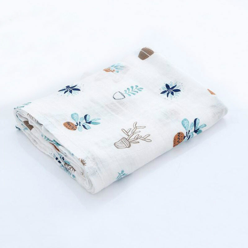 Newborn Swaddling Wrap Sack Photography Props Muslin Cotton Baby Blankets Infant Stroller Cover in Receiving Blankets from Mother Kids