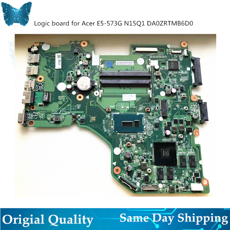 Original New Logicboard  for ACER E5-573g i5 Motherboard DA0ZRTMB6D0 i3 5005 i7 5500Original New Logicboard  for ACER E5-573g i5 Motherboard DA0ZRTMB6D0 i3 5005 i7 5500