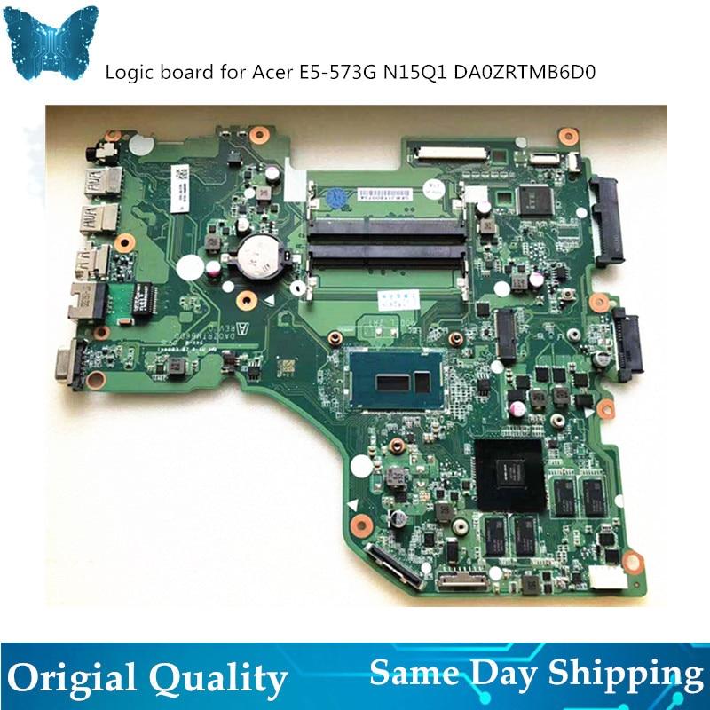 Original New Logicboard for font b ACER b font E5 573g i7 Motherboard DA0ZRTMB6D0