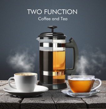 Portable Manual French Presses Pot Coffee Maker Filter Household Machine Percolator Tool