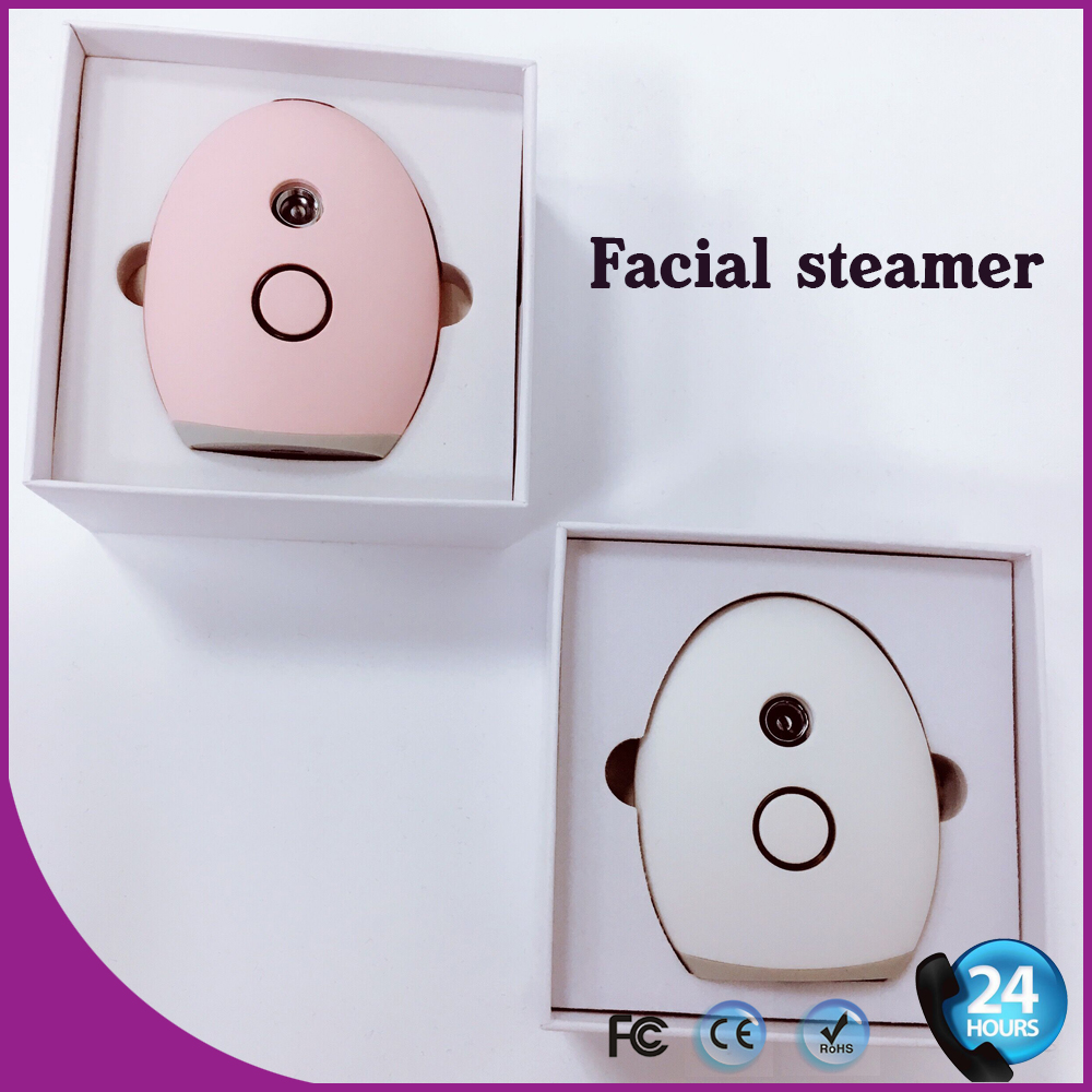 New Facial Spa Face Steamer Nano Steam Cosmetology Machine Cold Ion Sprayer deep face cleansing brush facial cleanser 2 speeds electric face wash machine