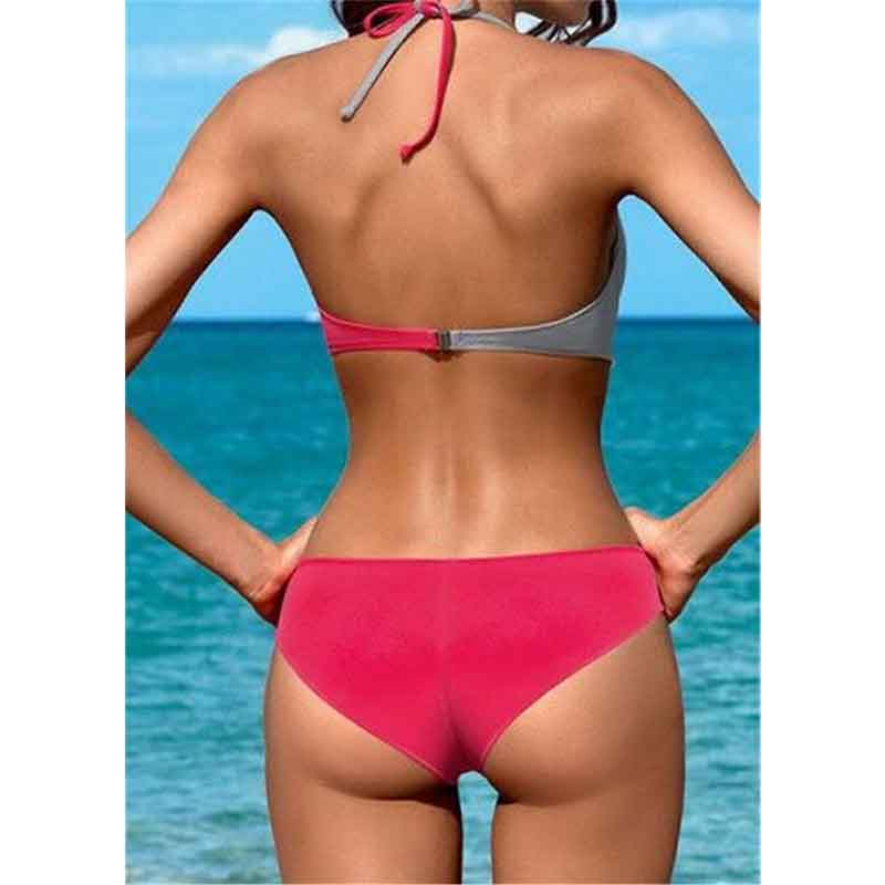 2019 Women Sexy Bikini Set Push Up Female Swimsuit Swimwear Swim Separate Two Piece Brazilian Bathing Suit Large Plus Size XXXL 5