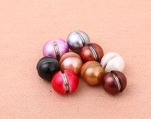 Новый дизайн дамы моды мяч круговой магнит Хиджаб мусульманский хиджаб pins броши застежка кнопка 48 шт./лот заказ цвета смешивания