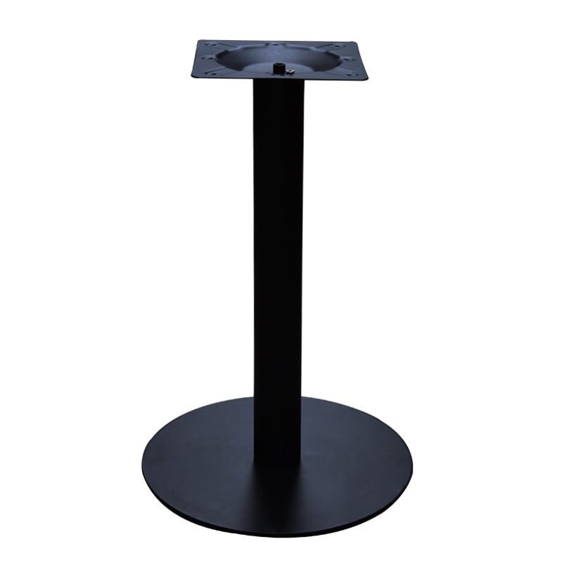 Black Rounded Table Feet Restaurant Table Legs Coffee Shop Table Stand Custom Height Cast Iron Table Legs