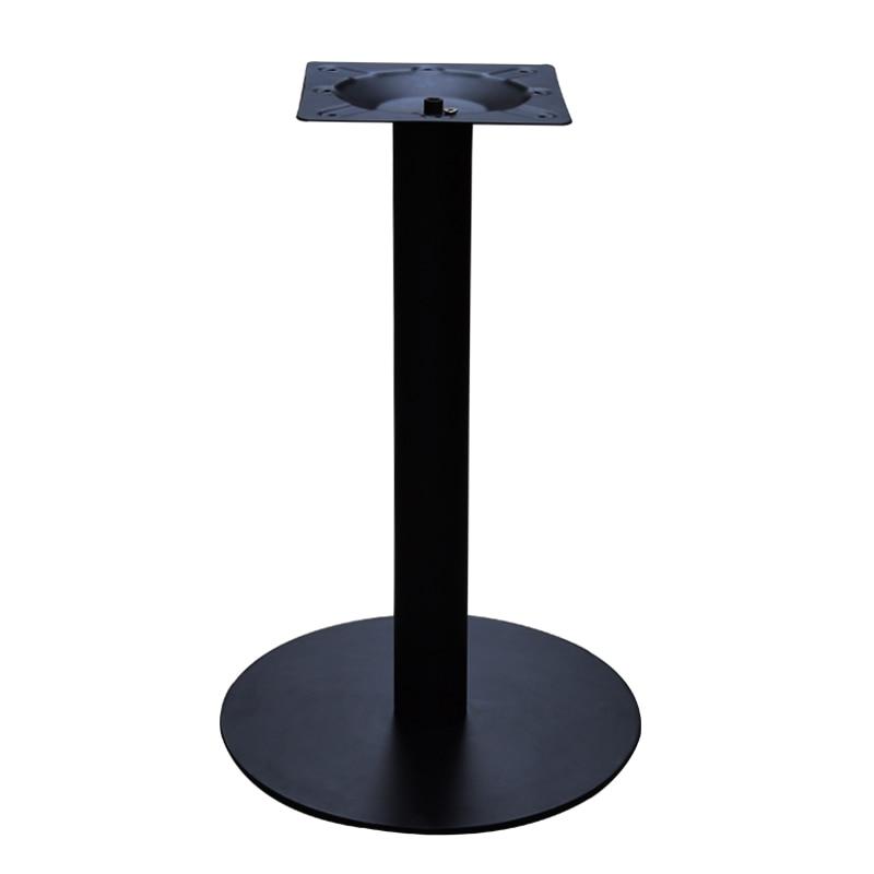 Black Rounded Table Feet Restaurant Table Legs Coffee Shop Table Stand Custom Height Cast Iron Table Legs