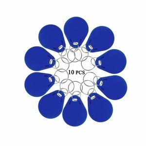 Image 5 - 10 قطعة لتحديد الهوية وتتفاعل المفاتيح 125KHz القرب معرف رمز العلامة الرئيسية Keyfobs للتحكم في الوصول إلى الباب