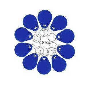 Image 5 - 10 Stuks Rfid Keyfobs 125Khz Proximity Id Token Markering Keyfobs Voor Deur Toegangscontrole
