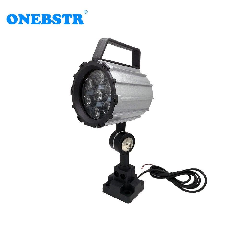 LED Spot light 7W 24V DC 220V AC CNC Machine Tool Working Light Anti oil Machine