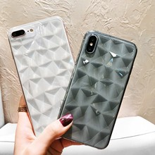 YEINDBOO Luxury Marble Phone Case For iPhone X XS Max XR Soft TPU Cover For iPhone 7 8 6 6s Plus Glitter Case Shockproof Cover цена и фото