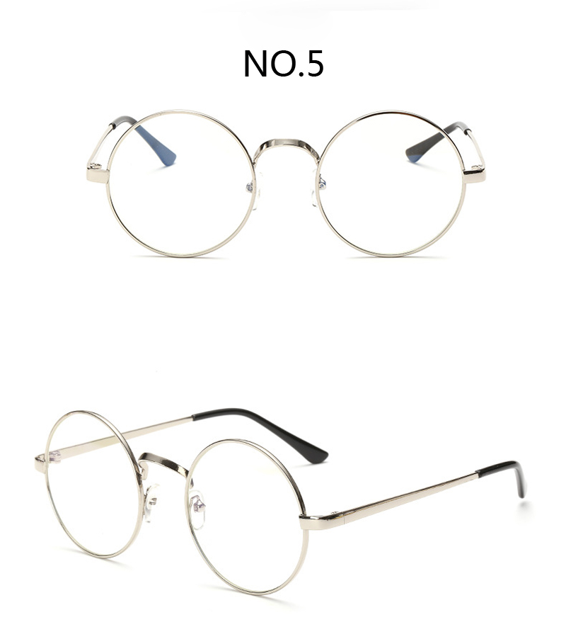 vintage round harry potter glasses frame female brand designer gafas de sol spectacle plain