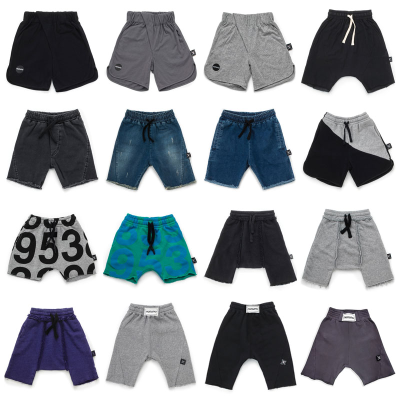 Pre-sale Boy Girl Shorts2019 Summer New Nu Children's   Shorts   Series Cartoon Letter Printing Boys Casual Five Pants