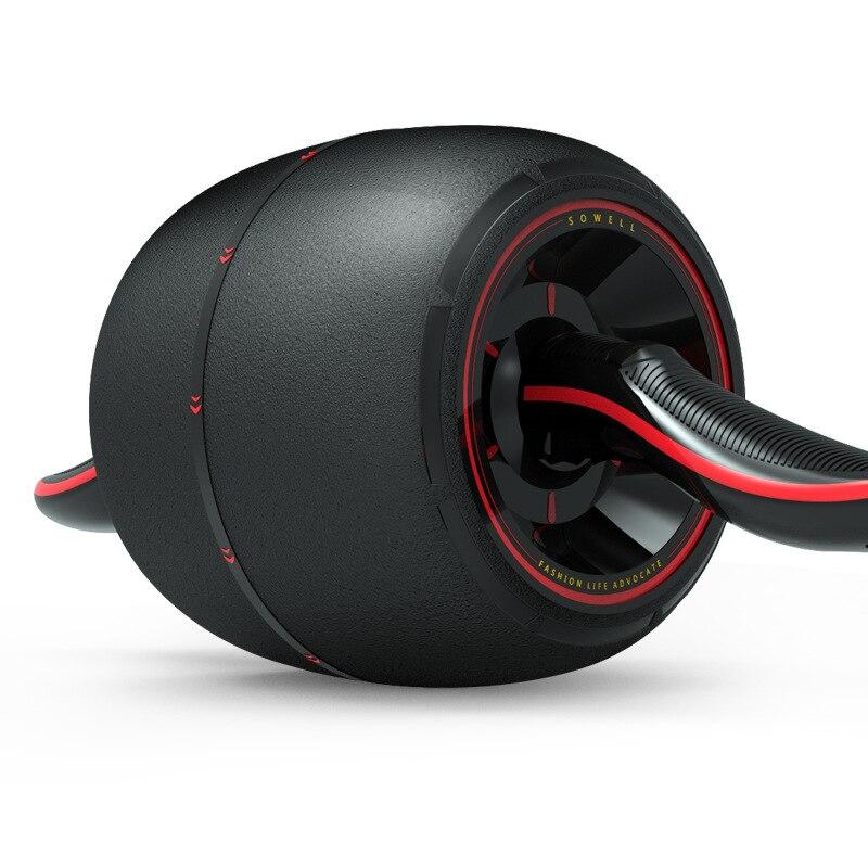 Tirez le rouleau AB pour l'entraîneur de muscles abdominaux exercice rebond AB roues rouleau extensible élastique outil de résistance abdominale
