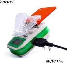 Usb 범용 배터리 충전기 lcd 표시기 화면 eu/us 플러그 휴대 전화 usb 충전기 삼성 배터리 충전기 + 추적