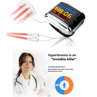 ATANG High Blood Pressure Diabetes Cholesterol Rhinitis Treatment Cerebral Thrombosis Medical Device Laser Therapy Wrist Watch