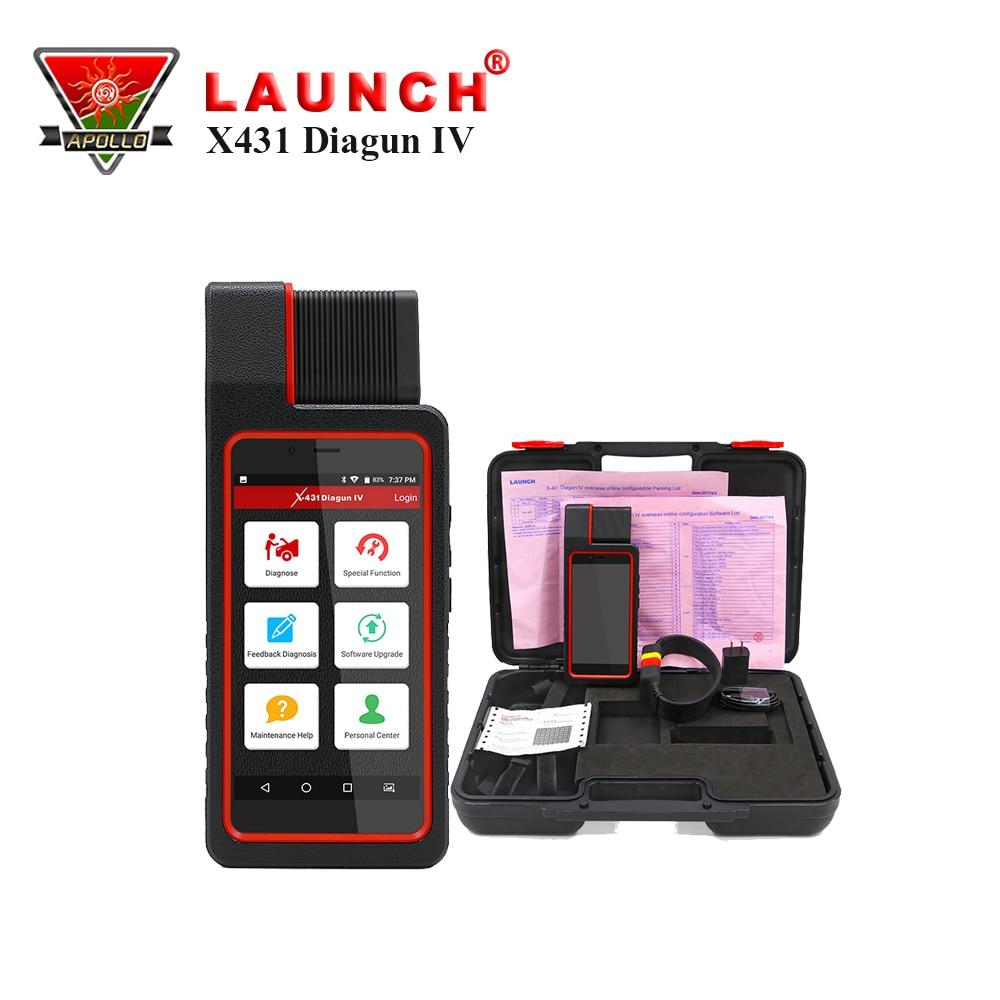 Launch X431 Diagun IV Automotive Scanner Launch Auto Come With Brake,Oil,SAS,TPM