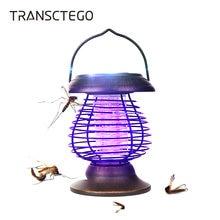 Портативный светильник от комаров на солнечной батарее