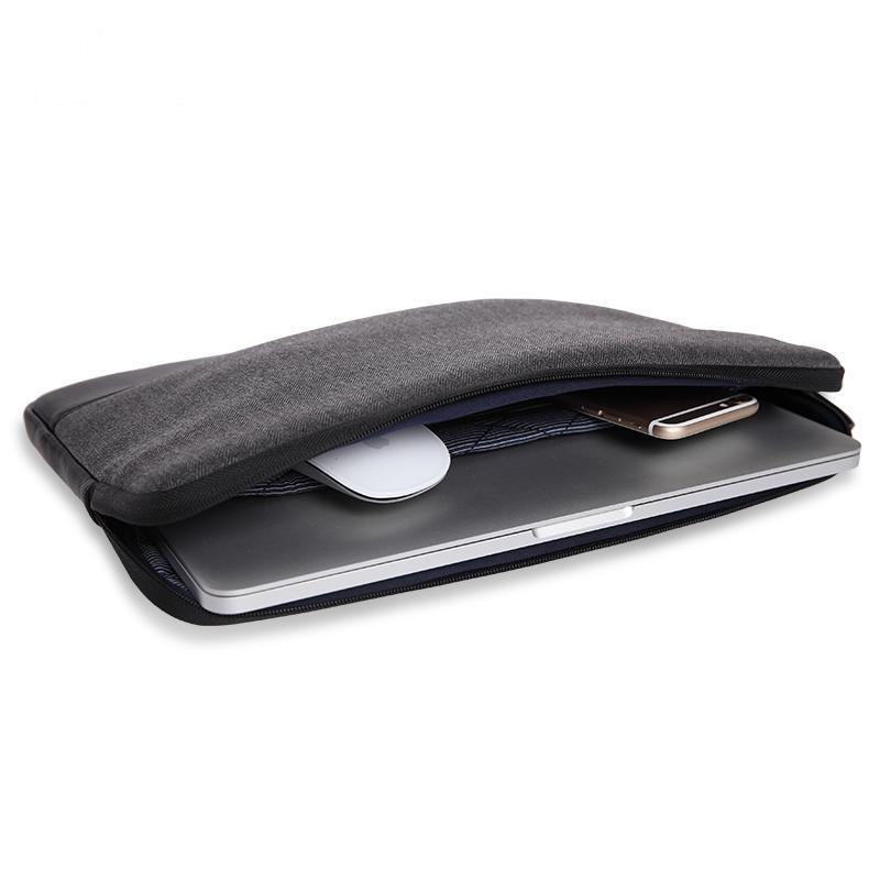 Futerały na walizki WIWU do Macbook 13 Skórzane etui na notebook - Akcesoria do laptopów - Zdjęcie 3