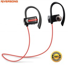 RIVERSONG Sport Bluetooth Earphone wireless bluetooth headset Mic Sweatproof Noise Reduction stereo earphone for IOS Android