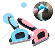 Pet Dog Cat Grooming Comb Removal Hair Combs Brush Deshedding Clipper Stainless Detachable Dog Brush Hair Tools Pet Supplies pet hair deshedding dog cat brush comb sticky hair gloves hair fur cleaning for sofa bed clothe pets dogs cats cleaning tools