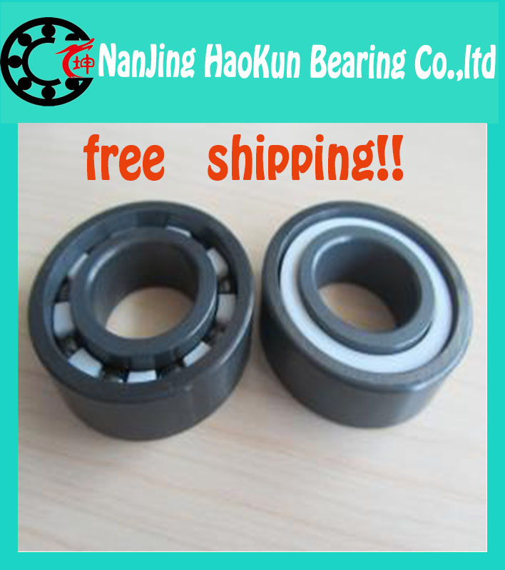 ФОТО Free shipping 6204-2RS full SI3N4 ceramic deep groove ball bearing 20x47x14mm 6204 2RS