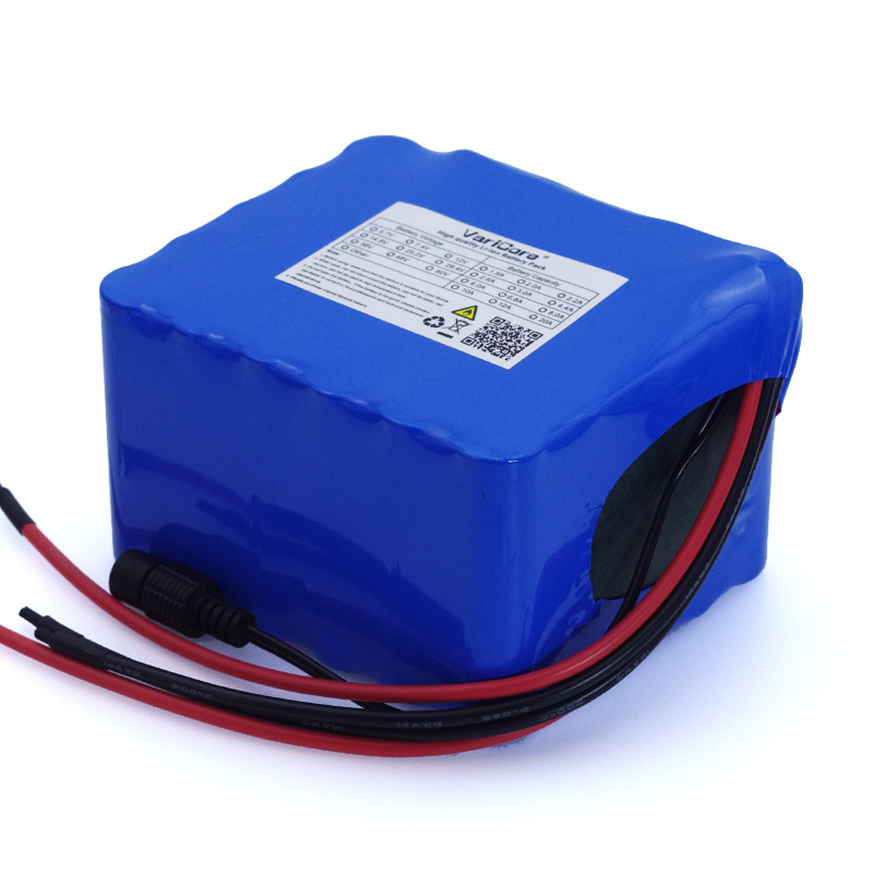 Image 4 - VariCore 12V 11.1v 20Ah high power 50A 100A discharge battery pack BMS protection 4 line output 12.6V 500W 800W 18650 batteries-in Battery Packs from Consumer Electronics