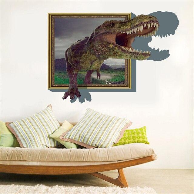 3D Behang Dinosaurus Hoge Kwaliteit Luxe Creatieve Kind Kids ...