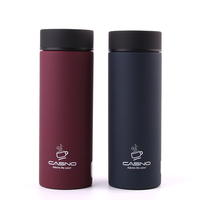 CASNO 300ml Vacuum water bottle Stainless Steel Bottle Belly Thermal Bottle for water Insulated Tumbler For Car Coffee