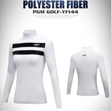 Осенний женский костюм для гольфа, Длинные дышащие футболки, белая спортивная одежда, размер s-xl
