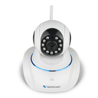 Vstarcam C25 Direkt Fabrik 720 P HD WIFI Drahtlose Ip-kamera Zwei-wege Audio 360 Grad Ansicht Winkel Triple-Stream sicherheit Kamera