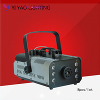 8PCS/LOT Wireless Remote Control Smoke Machine Fog Machine Disco Stage Light dj Equipment