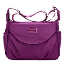 цена на Women Messenger Bags Fashion Handbag Waterproof Nylon Shoulder Bag Female Crossbody Bags For Lady Casual Tote bolsa feminina