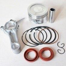 68mm pierścienie tłokowe uszczelka olejowa korbowód Replacemet zestaw do Hondy GX160 GX200 168F 2kw 2.5KW Generator benzynowy silnik