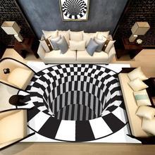 RULDGEE 3D печать ковер на открытом воздухе коврик для пикника Коврик для гостиной ковер для ванной комнаты