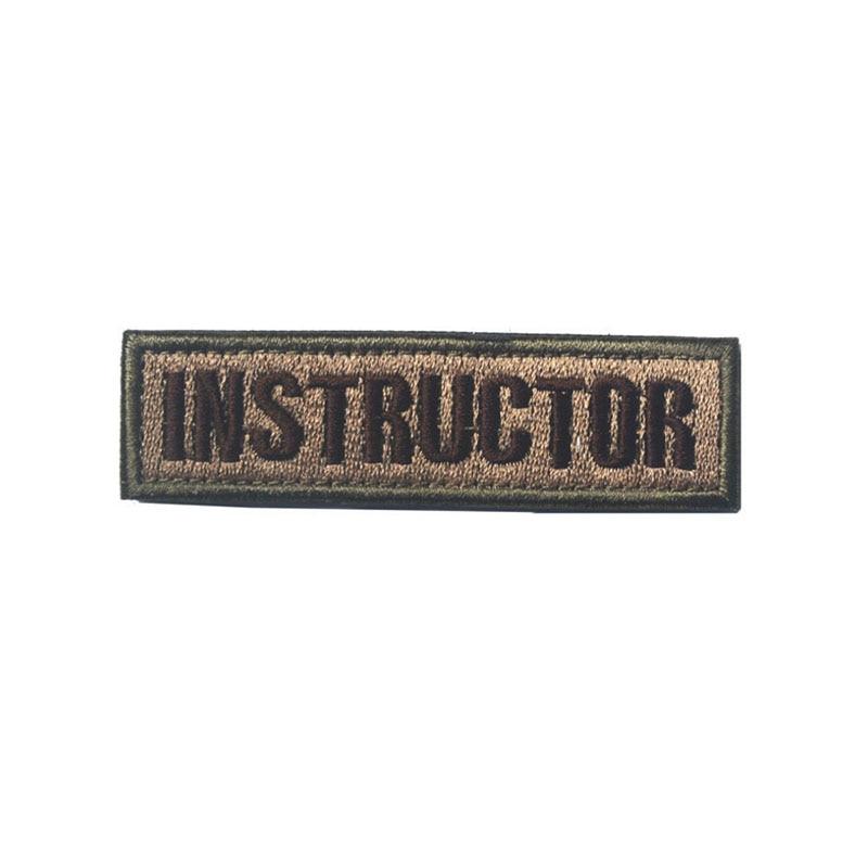 Distintivo militare patch 1x1.75 pollici Morale Patch Patch colori multipli Patch di alta qualità Emberoidered Badge Armband Badge