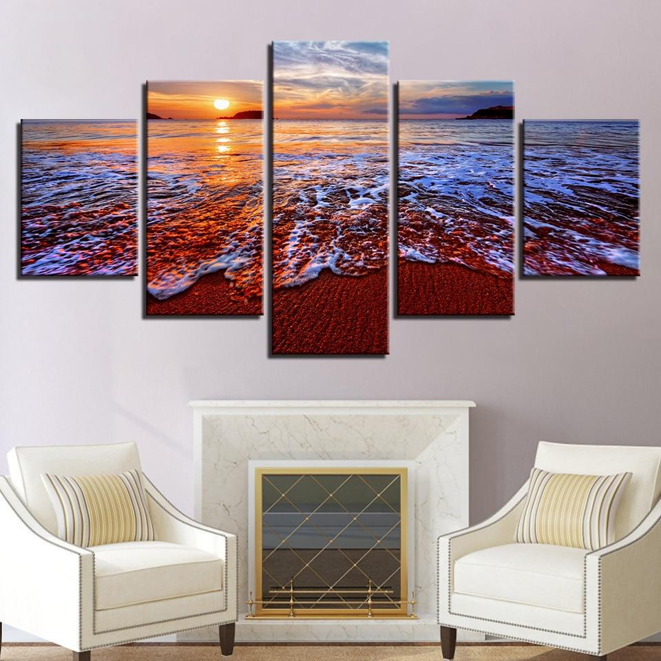 Modern Canvas Pictures Home Wall Art Decor Modular