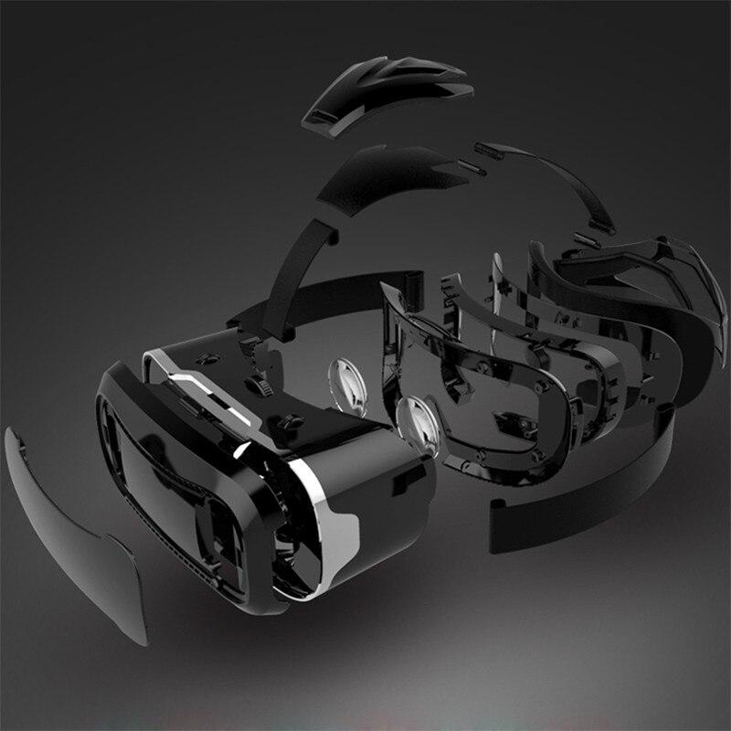VR Shinecon 2.0 Google Cardboard VR BOX 2.0 Virtual Reality goggles VR 3D Glasses Immersive for 4.5-6.0 inch smartphones 19