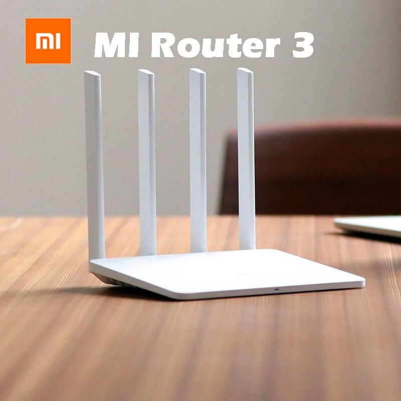 Original Xiaomi WIFI Router 3 4 Antenna Design 11AC WiFi Roteador Dual Band 2.4G