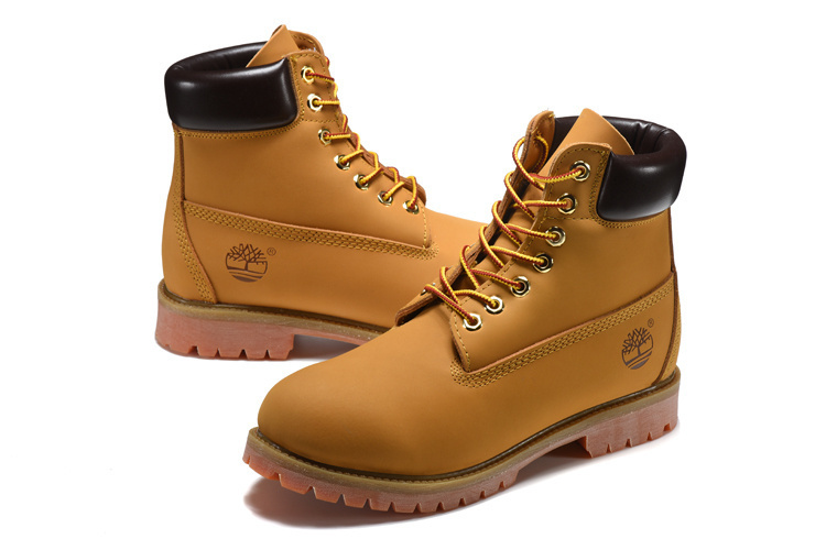 TIMBERLAND Men Classic 10061 Wheat Spring Yellow Ankle Boots,Man Male Leather Outdoor Casual Shoes Oversea Simple Version 40-45 2