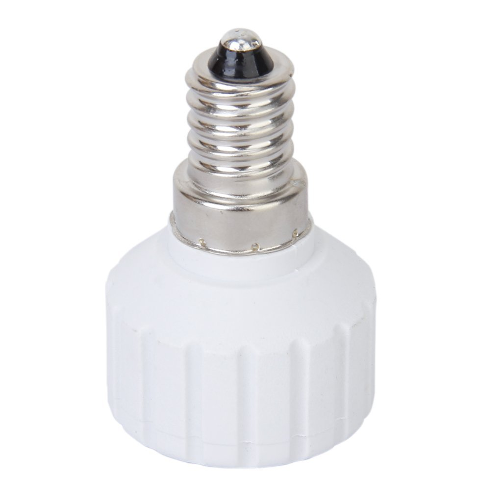 E14 to GU10 Screw LED Light Bulb Socket Adapter Converter
