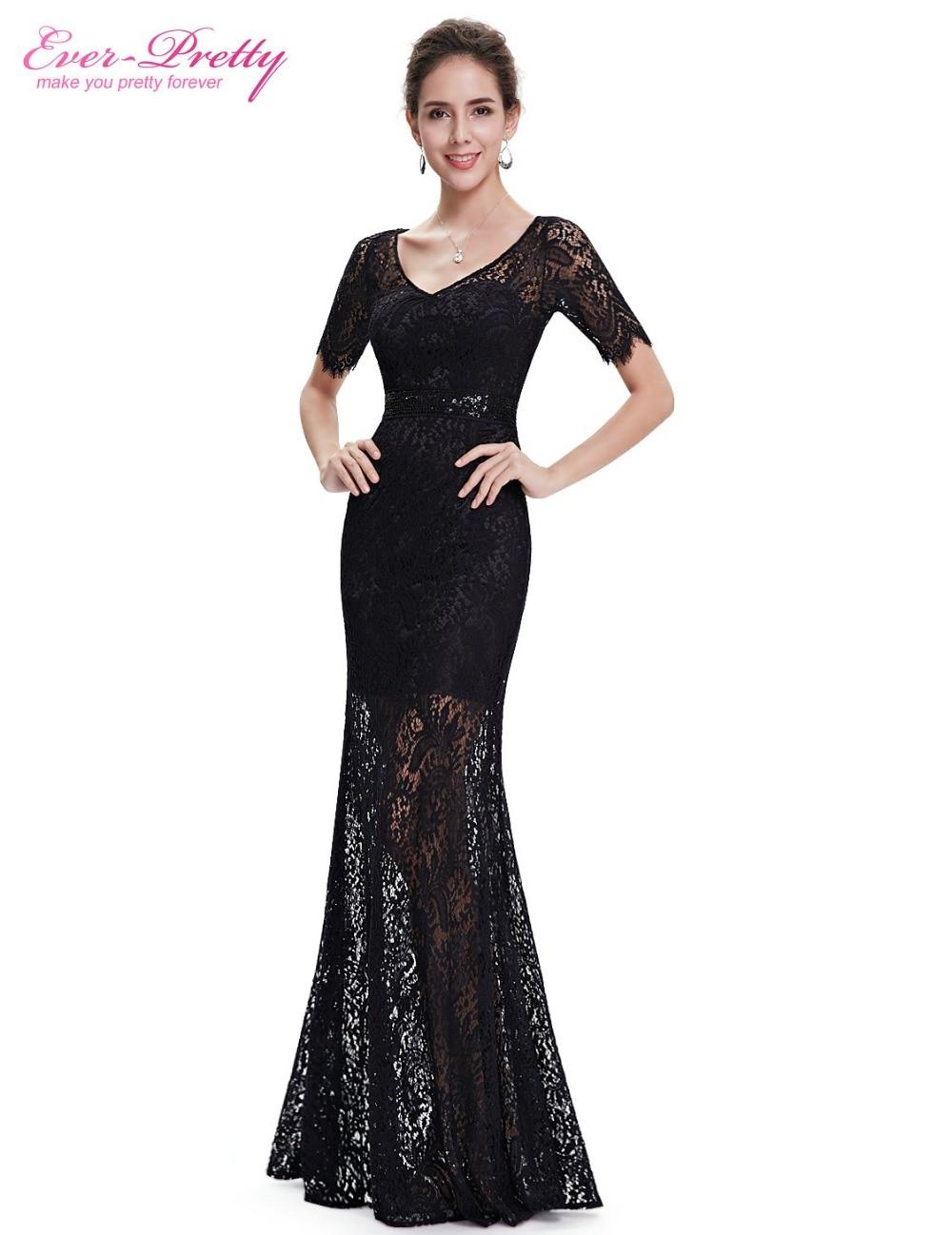 Длинные красивые черные платья