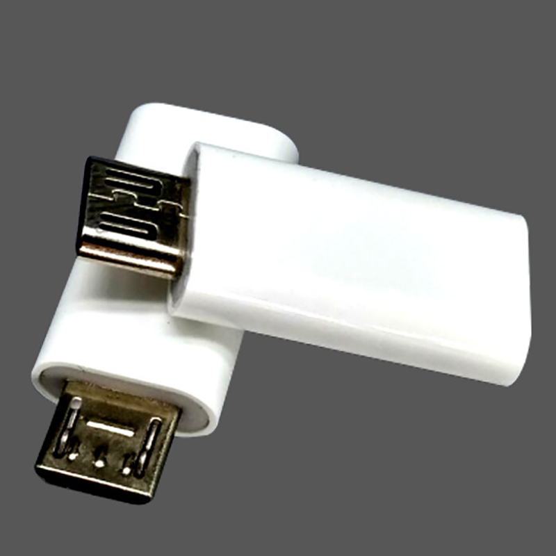 White Black Type C To Micro USB Android Phone Cable Adapter Charger Converter For Xiaomi Mi6 Mi5 Huawei P9 P10 Letv Type-c Cable