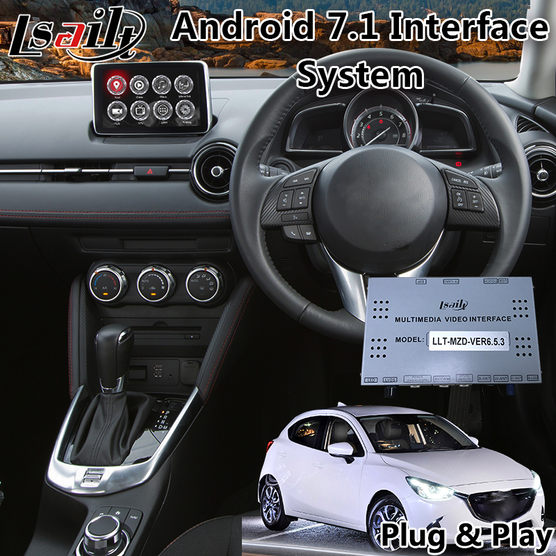 Video-Interface Navigation Mazda2 Android Multimedia Car Gps for Maxx Genki GT