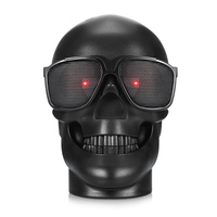 2017 Halloween Skull Stereo Bluetooth Speaker NFC Subwoofer Super Heavy Bass Portable Speakers Support TF Card