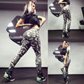 HOT 8 styles sexy girl women hardcore ladies Leopard letter Anime 3D prints workout elastic fitness Leggings pants