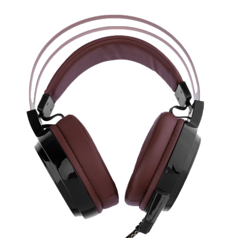 Universal Computer Wired Gaming Headphone USB+Dual 3.5mm RGB LED Desktop PC Video Games Gamer Headset with Microphone cool luminous wired headphones with microphone hifi stereo sound headband gaming headphone for computer pc games video csgo lol