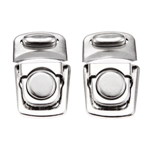 2Pcs Antique Silver Color Lock Metal Jewelry Chest Gift Box Suitcase Case Buckles Hasp Latch Catch Clasp Furniture Hardware